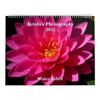 Sunken Gardens Water lilies Calendar 2015 #10