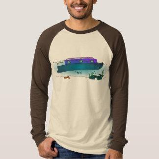 Sunken Narrowboat T-Shirt