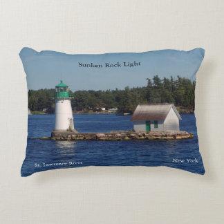 Sunken Rock Light accent Pillow