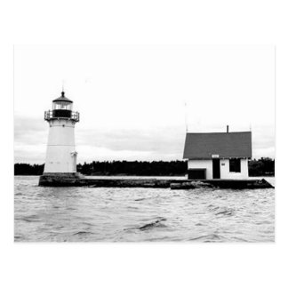 Sunken Rock Lighthouse Postcard