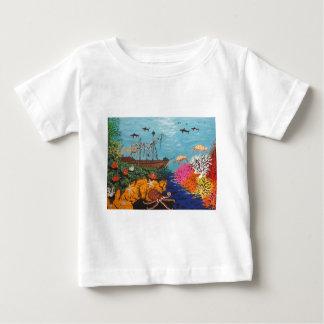 Sunken Treasure Ship Baby T-Shirt