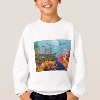 Sunken Treasure Ship Sweatshirt