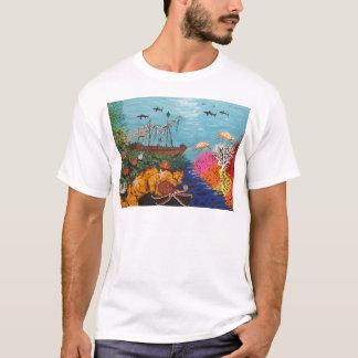 Sunken Treasure Ship T-Shirt