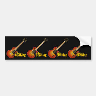 SunKing Electric Guitar Bumper Sticker