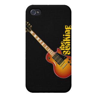 SunKing Sunburst Electric Guitar Case For iPhone 4