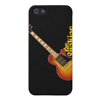 SunKing Sunburst Electric Guitar iPhone 5 Cases