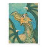 Sunkissed Dragon postcard