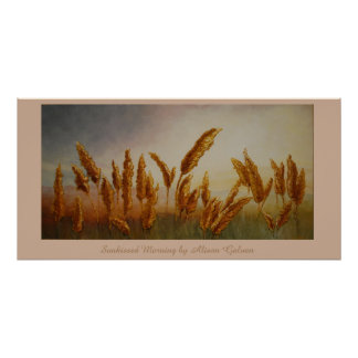 Sunkissed Morning by Artist Alison Galvan Print