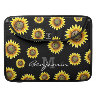 Sunkissed Smiling Sunflower Sleeve For MacBooks