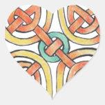 Sunknot Heart Sticker
