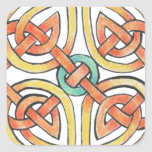 Sunknot Square Sticker
