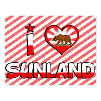 Sunland, CA Postcard