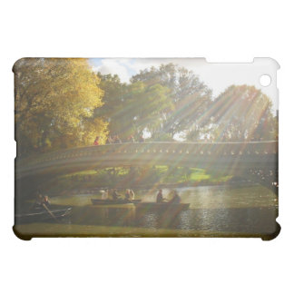 Sunlight and Boats, Bow Bridge, Central Park iPad Mini Cover