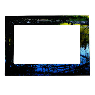 Sunlight and Shadow Magnetic Photo Frame