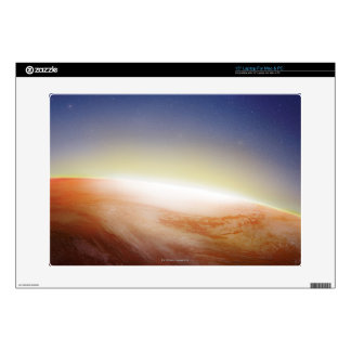 """Sunlight Behind Earth 3 15"""" Laptop Decals"""