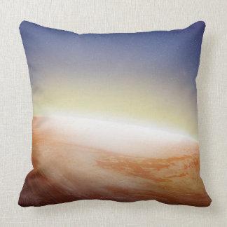 Sunlight Behind Earth 3 Throw Pillow