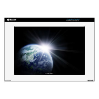 "Sunlight Behind Earth 4 Skins For 15"" Laptops"