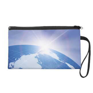 Sunlight Behind Earth Wristlet