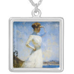 Sunlight by Frank Benson Personalized Necklace