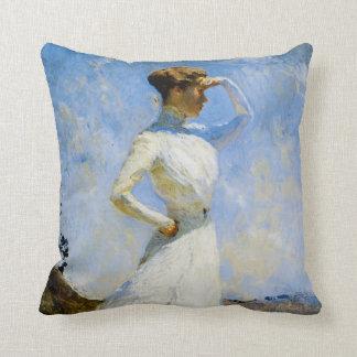Sunlight by Frank Benson Throw Pillow