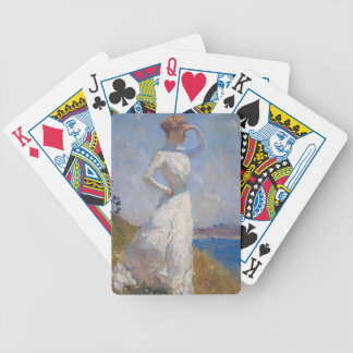 Sunlight by Frank Weston Benson Bicycle Playing Cards