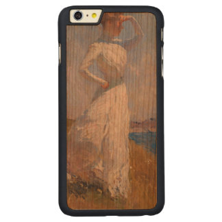 Sunlight by Frank Weston Benson Carved Cherry iPhone 6 Plus Slim Case