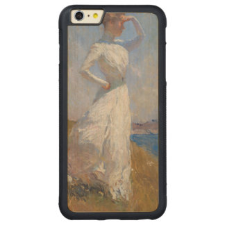 Sunlight by Frank Weston Benson Carved Maple iPhone 6 Plus Bumper Case
