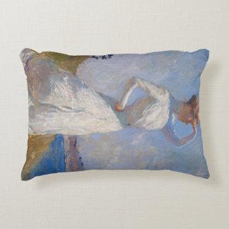 Sunlight by Frank Weston Benson Decorative Pillow