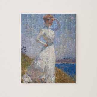 Sunlight by Frank Weston Benson Jigsaw Puzzle