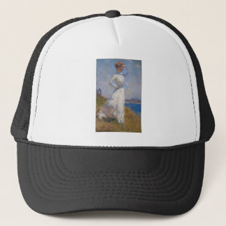 Sunlight by Frank Weston Benson Trucker Hat