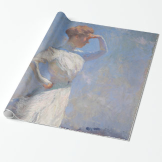 Sunlight by Frank Weston Benson Wrapping Paper