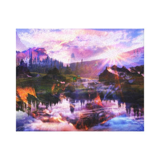 Sunlight canvas gallery wrapped canvas