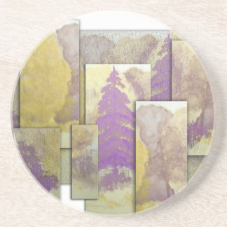 Sunlight Dancing Cut Out Drink Coaster