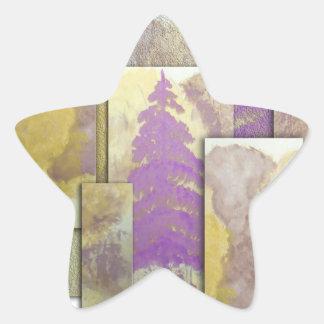 Sunlight Dancing Cut Out Star Sticker