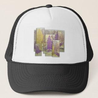 Sunlight Dancing Cut Out Trucker Hat
