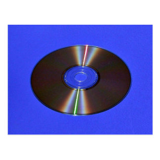 sunlight diffraction off of CD-ROM Postcard
