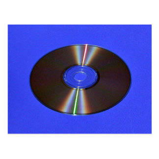 sunlight diffraction off of CD-ROM Postcard