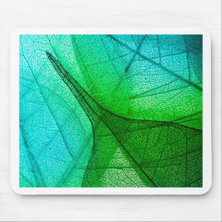 Sunlight Filtering Through Transparent Leaves Mouse Pad