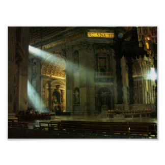 Sunlight in the Vatican Print