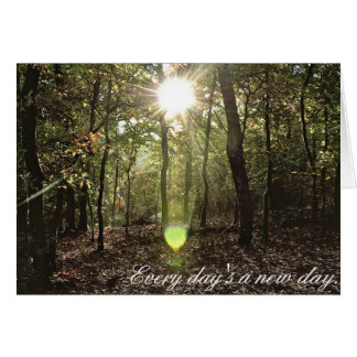 Sunlight - Notecard Stationery Note Card