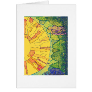 Sunlight of the Spirit Greeting Card
