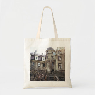 Sunlight On A Medieval Castle Photograph Tote Bag