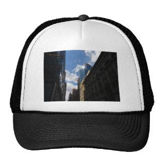 Sunlight on Skyscrapers, Midtown, New York City Hats
