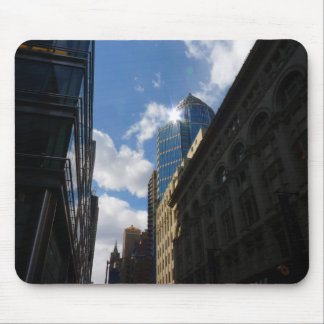 Sunlight on Skyscrapers, Midtown, New York City Mouse Pad