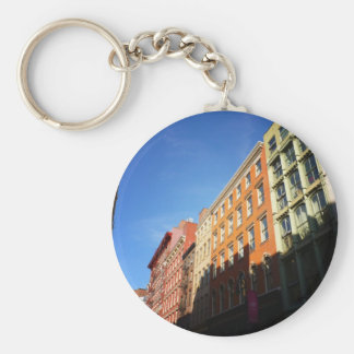 Sunlight On Soho Buildings, NYC Key Chains