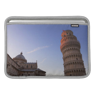 Sunlight on the top of the Leaning Tower of Pisa MacBook Sleeve