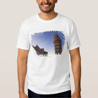 Sunlight on the top of the Leaning Tower of Pisa T Shirt