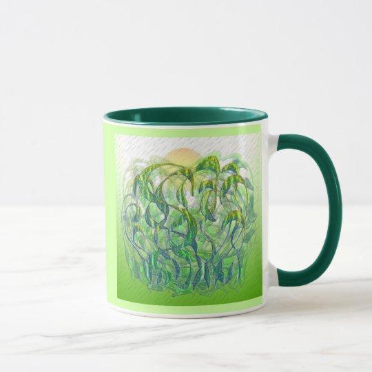 Sunlight on Wet Grass Mug