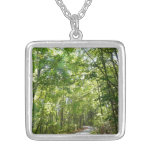 Sunlight on Wooded Path Necklace