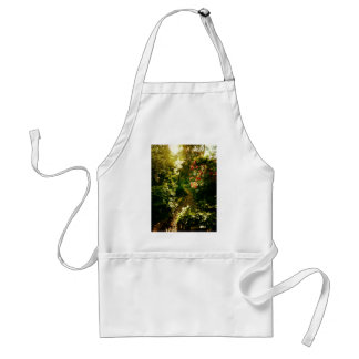 Sunlight Over A Garden Path Adult Apron